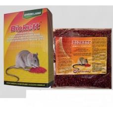Biokett Pak rodenticid sub formă de boabe de cereale impregnate ( 200 g)