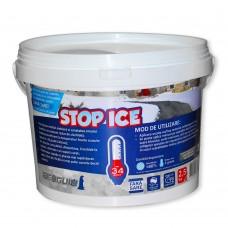 STOP ICE produs biodegradabil pentru prevenire/combatere gheață 2.5 kg