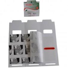 Capcană cu lipici adeziv pentru monitorizarea insectelor târâtoare ScaraTrap