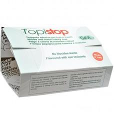 Capcană adezivă din carton cu atractant pentru rozătoare mici Topi Stop