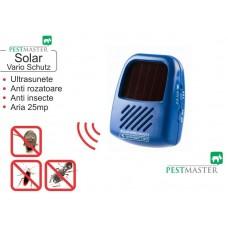Aparat Vario SOLAR Blister (anti șoareci, șobolani, țânțari, cu frecvență reglabilă pentru fiecare tip de dăunător)