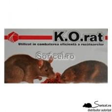 Momeala raticida sub forma de grau K.O Rat