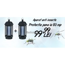 Oferta! 2 Aparate anti insecte cu lampa UV - Pestmaster IK4