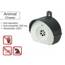 Animal Chaser aparat cu ultrasunete pentru uz exterior împotriva șoarecilor și rozătoarelor  200 mp