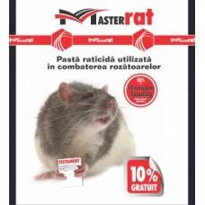 Pastă raticidă roșie pentru combatere șoareci, șobolani MasterRat 200 g