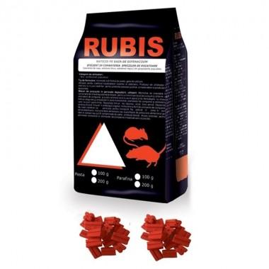 Rubis parafina (baton cerat) 200 g