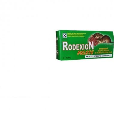 Momeală raticidă micro pelete pentru combatere rozătoare Rodexion 400 g