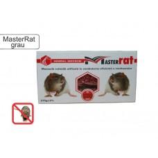 Momeală raticidă grâu pentru combatere șoareci, șobolani MasterRat 375 g