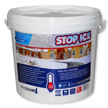 STOP ICE produs biodegradabil pentru prevenire/combatere gheață 5 kg