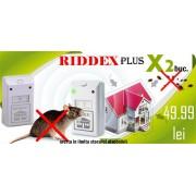 Aparat anti șoareci, șobolani, gândaci de bucătărie Riddex Plus (pachet promo 2 bucăți)
