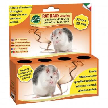 Raț Raus Ambient REP78 repelent olfactiv granule pentru șoareci și șobolani 50gr