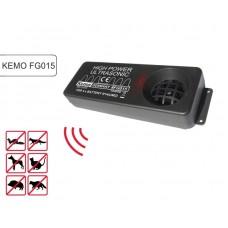 Generator ultrasunete anti jderi și dihori - Kemo FG015 (200 mp)