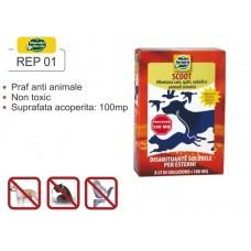 Praf solubil împotriva animalelor anti păsări REP 01