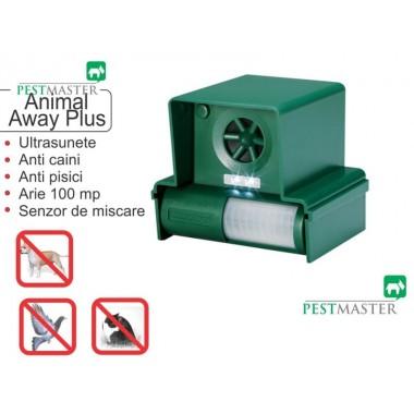 Dispozitiv mobil cu baterii împotriva câinilor și pisicilor Animal Away Plus