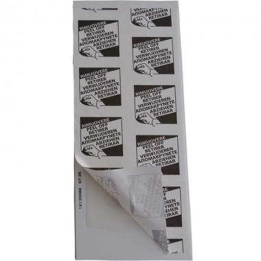 Capcană adezivă pentru șoareci cu atractant alimentar Stop Mini Plastic
