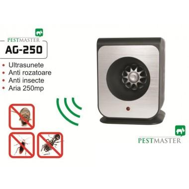 Aparat cu ultrasunete împotriva căpușelor - Pestmaster AG250 - 250 mp