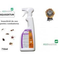 Insecticid de soc pentru combaterea insectelor târâtoare și zburătoare - Aquasektum 750 ml