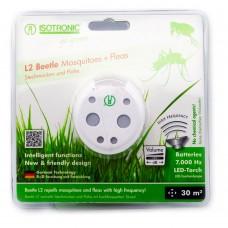 Aparat portabil cu lanternă împotriva țânțarilor și puricilor L2Beetle 70505 30 mp interior, rază 6 m exterior