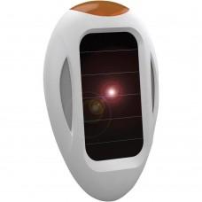 Aparat portabil cu ultrasunete și alimentare solară anti câini, pisici, țânțari și purici SpaceDog 70550 8 m exterior, 30 mp interior