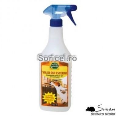 Spray anti câini și pisici pentru uz exterior REP 02