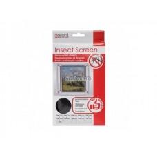 Plasă contra insectelor pentru ușă 150 x 180 cm (albă / neagră)