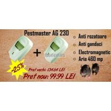 OFERTA 2 Aparate anti șoareci și insecte târâtoare Pestmaster AG230