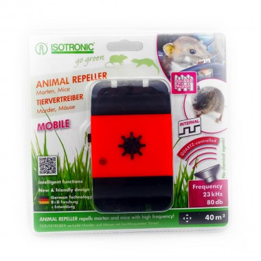 Aparat mobil anti-rozatoare jderi dihori soareci sobolani Animal Repeller Mobile 78480 40mp