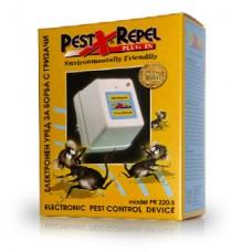 Aparat anti gândaci și anti șoareci cu ultrasunete - PR220.5 - 50 mp